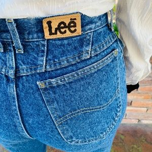 Vintage High waisted 80s,90s Lee jeans./Firm Price